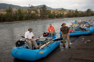 Rafting and Fishing, Summer Conference 2016