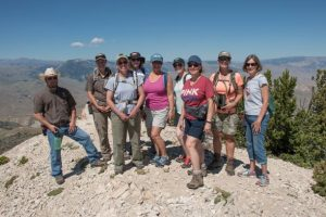 Hike up Heart Mountain, Summer Conference 2016