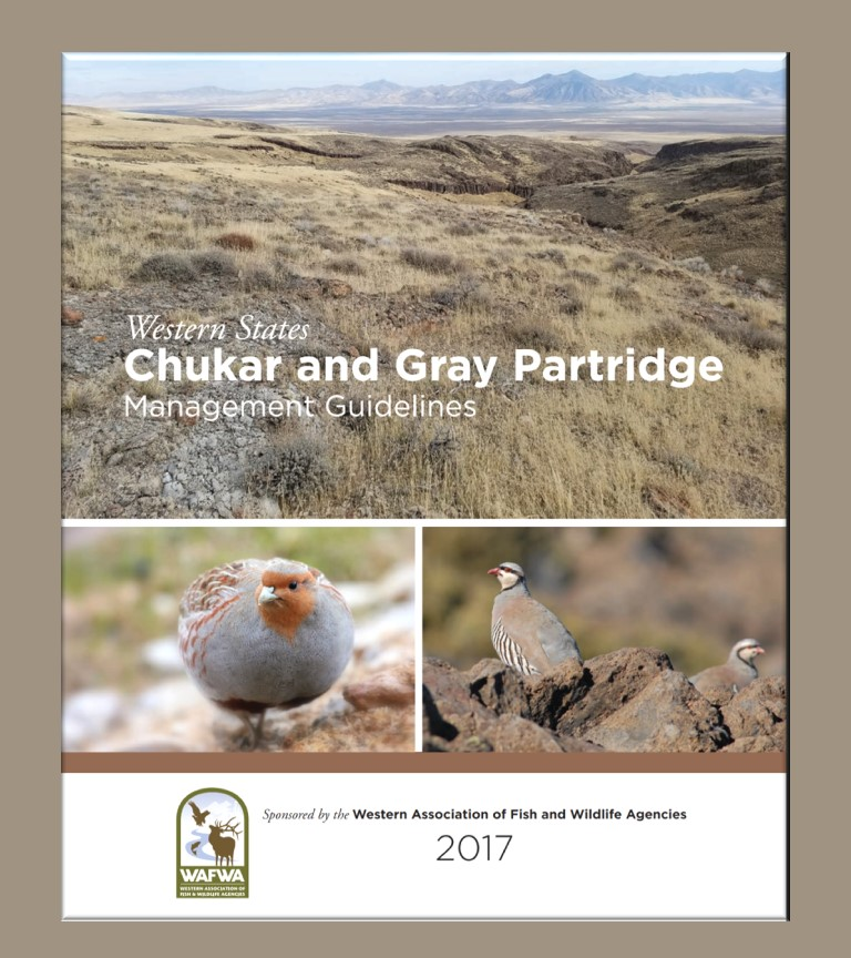 WAFWA's Western States Chukar and Gray Partridge Management Guidelines