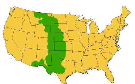 General area of the Western Grassland Initiative