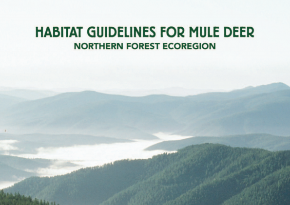 Habitat Guidelines for Mule Deer